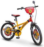 Детский велосипед 20 дюймов Ferrari