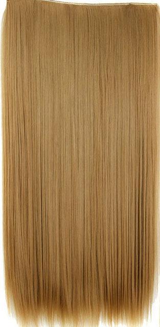 Волосы тресс на заколках ТЕРМо затылочная прядь 60см №27