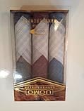 Чоловічий носовичок 3 шт в упаковці, фото 2