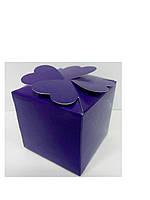 Упаковочная коробочка декоративная фиолетовая