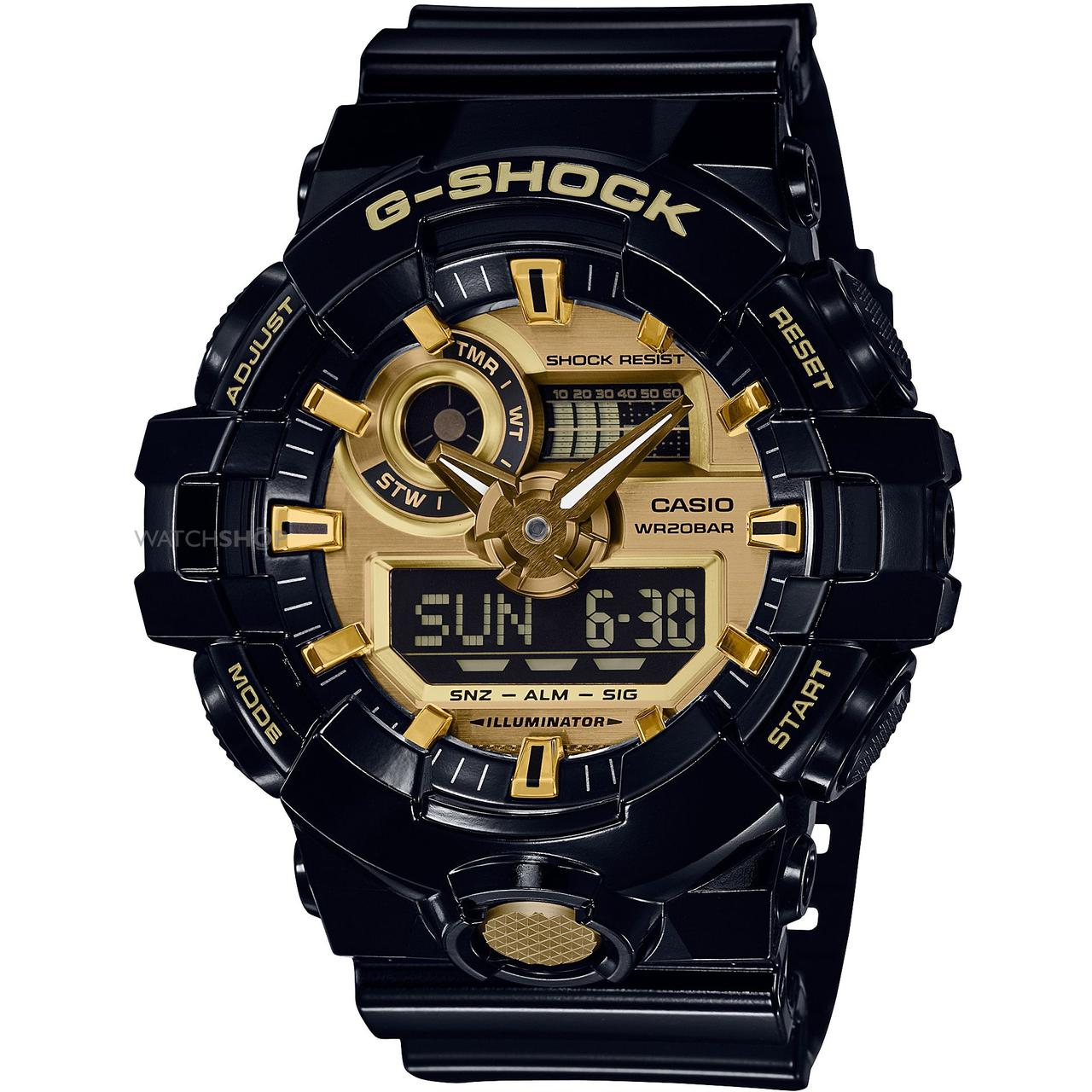 Часы Casio G-Shock GA-710GB-1A В.