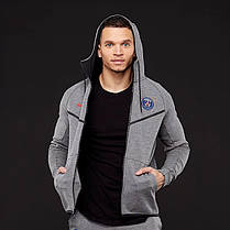 Толстовка Nike PSG Tech Fleece Windrunner Jacket AA1932-095 (Оригинал) , фото 2