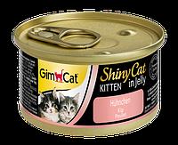 Gimpet Shiny Cat 70 г*12шт - консервы для котят