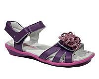 Босоножки для девочек Calorie 162-2C purple (Размеры: 32-37)