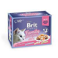 Brit Premium Cat pouch 85g *12шт - паучи в желе для кошек  ( 111245/408 ), фото 2