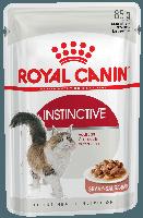 Royal Canin Instinctive (кусочки в соусе) 85г*12шт - паучи для кошек старше 1 года, фото 2