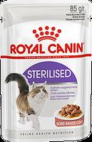 Royal Canin Sterilised в соусе  85г*12шт- паучи для стерилизованных кошек старше 1 года, фото 2