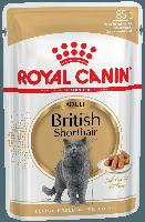 Royal Canin British Shorthair (кусочки в соусе)  85г*12шт-паучи для британских короткошерстных кошек, фото 2