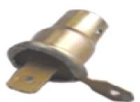 """Патрон под лампу T8,5 (T4W) металлический под """"минус"""""""