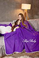 """Плед з подушкою (для дітей), комплект """"Сова"""". Розмір S"""
