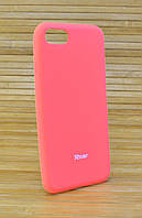 Силиконовый чехол для Айфон, iPhone 8 ALL DAY оранжевый