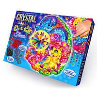 "Набор для творчества Часы ""Crystal Mosaic Clock"" СМС-01-03 Danko Toys"