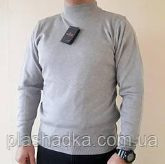 Мужской свитер больших размеров р.54-56, Турция, светло серый