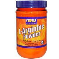 L- Аргинин, Now Foods,  Порошок,  454 г