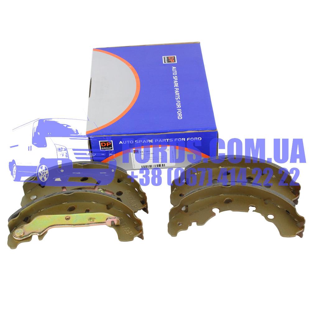 Колодки тормозные задние FORD FIESTA/FUSION 2001-2012 (1236882/2S6J2200BA/BS7303) DP GROUP