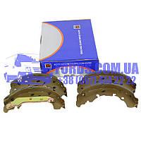 Колодки тормозные задние FORD FIESTA/FUSION 2001-2012 (1236882/2S6J2200BA/BS7303) DP GROUP, фото 1