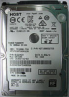 HDD 720GB 7200 SATA3 2.5 Hitachi HTS721075A9E630 D30W6M7E, фото 1