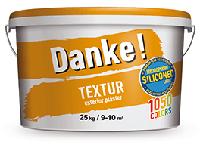 """Фасадная акриловая силиконмодифицированная штукатурка с фактурой """"короед"""", Danke! Textur 15, 25кг"""