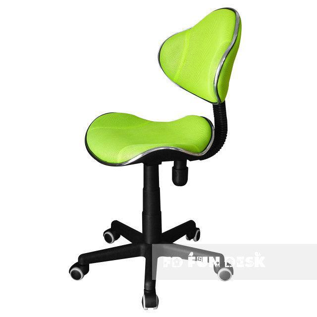 Ортопедическое детское кресло для школьников 7-18+ лет  (Нагрузка до 80 кг) ТМ FunDesk Салатовый LST3 Green - ibaby.kiev.ua - интернет-магазин товаров для детей в Киеве
