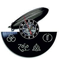 Настенные часы из виниловых пластинок LikeMark Airship