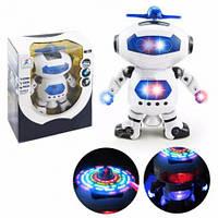 Музыкальный светящийся Робот. Детская игрушка танцующий Робот