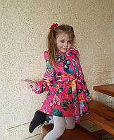 Весенняя куртка-пальто для девочки