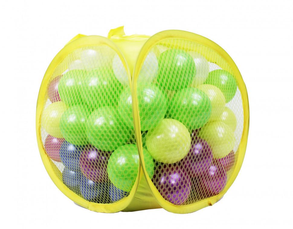 Детский игровой набор Шарики 467-80 перламутровые для сухого бассейна, 80 шт в сетке 70мл.