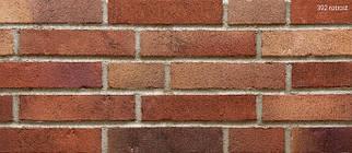 Клинкерная плитка Stroeher 392 rotrost, серия HANDSTRICH формат DF 240х52х14