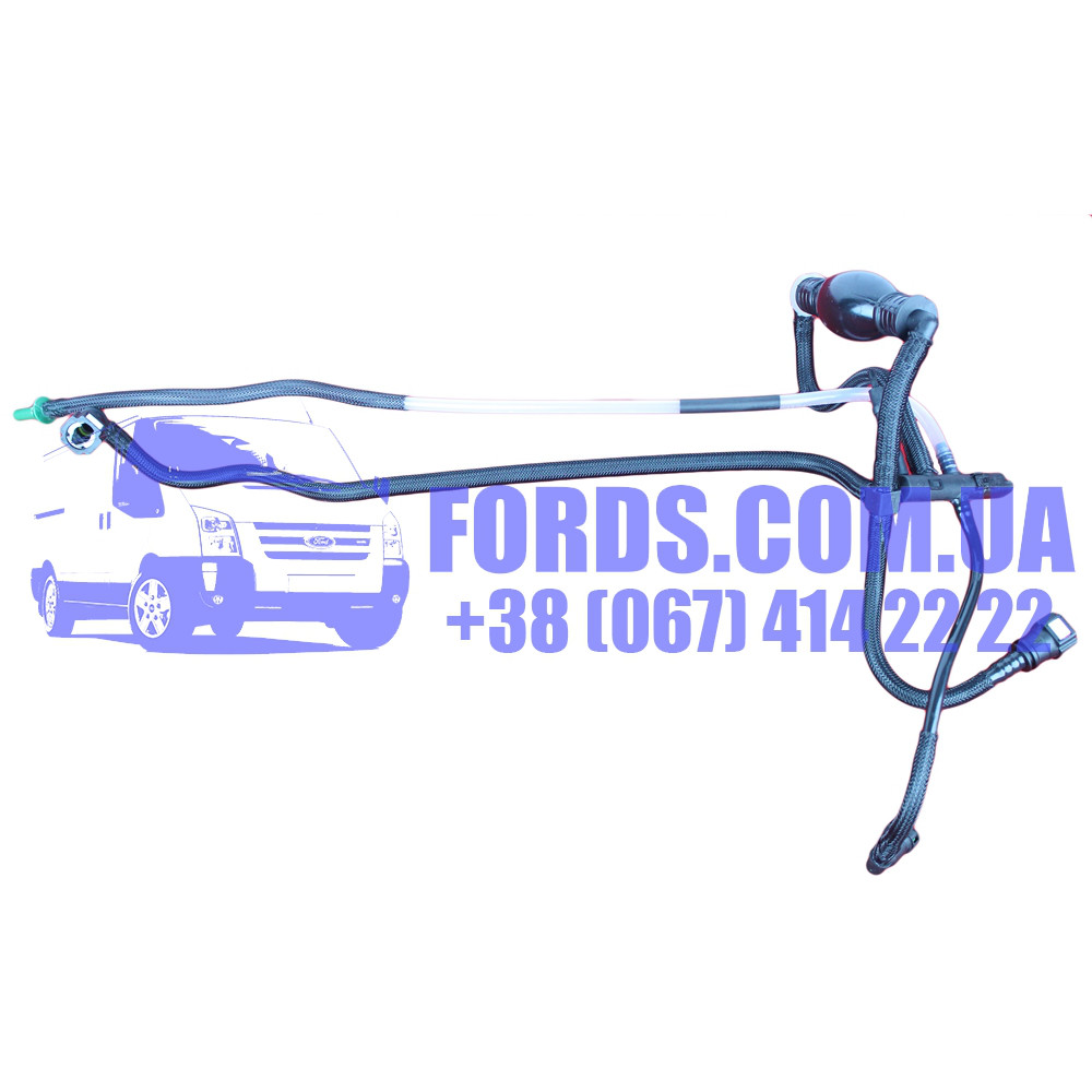 Трубка топливная FORD FIESTA 2001-2012 (1.4 TDCI) (1501910/2S6Q9D350AF/ES75350) DP GROUP
