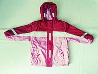 Курточка для девочки с отражательными лентами
