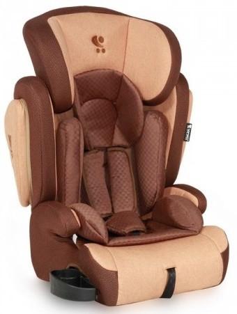 Детское автокресло Bertoni Omega (9-36 кг) beige&brown