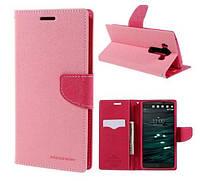 Чехол-книжка Goospery для LG V10 (H961S) Pink