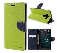 Чехол-книжка Goospery для LG V10 (H961S) Green
