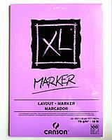 Альбом-Склейка для маркеров Canson MARKER XL Layout  А3, 100л, 70г