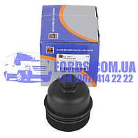 Крышка масляного фильтра FORD FIESTA/FOCUS/MONDEO/COURIER 2001- (1.4TDCI/1.6TDCI) (1145964/2S6Q6737AA/ES75673) DP GROUP