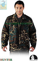 Куртка рабочая камуфляжная с отстегивающейся подкладкою Польша (утепленная рабочая одежда) LH-HUNPOL MO