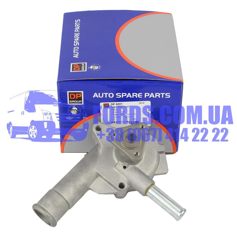 Помпа двигателя FORD FIESTA/ESCORT 1990-1991 (1.3 ZETEC) (1518096/ME92BX8591A2B/DP6001) DP GROUP