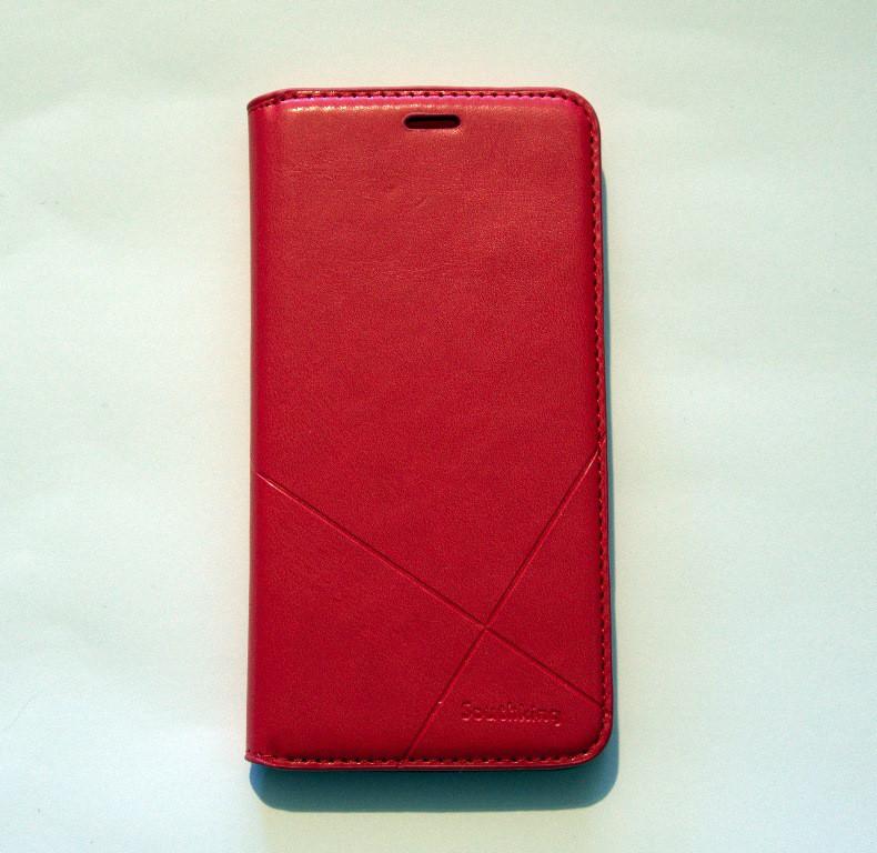Чехол-книжка для смартфона Huawei Y7 2017 Prime (TRT-LX1) красный MKA