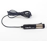 Микрофон компьютерный Havit, HV-M60 черный, 1,5 м