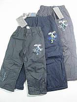 Балоневые брюки на флисе для мальчиков, размеры 98, Seagull, арт. CSQ-88487