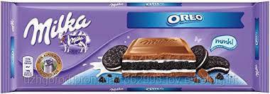 Шоколад молочный Milka oreo 0.300 гр