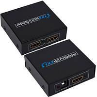 Разветвитель (сплитер) HDMI (1 гнездо HDMI - 2 гнезда HDMI), DC-5V