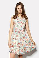 XS (42) / Повседневное легкое платье Ginger, цветы