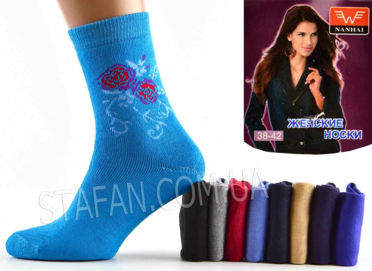 Женские махровые носки Nanhai B 8 Z. В упаковке 20 пар