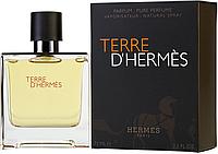HERMES Terre D'Hermes edp 75 ml парфум мужской (оригинал подлинник  Франция)