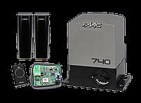 Привод FAAC 740 KIT — автоматика для откатных ворот (створка до 500 кг)