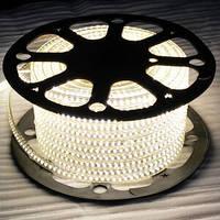 Герметичная светодиодная лента 220В 6W smd 5730 белый цвет JLFK
