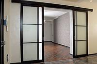 Раздвижные двери: разновидности, установка