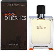 HERMES Terre D'Hermes EDT 100 ml туалетная вода мужская (оригинал подлинник  Франция)
