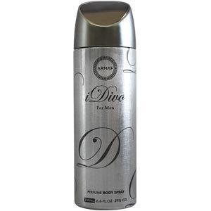 Парфюмированный дезодорант мужской I Divo 200ml. Armaf (Sterling Parfum)